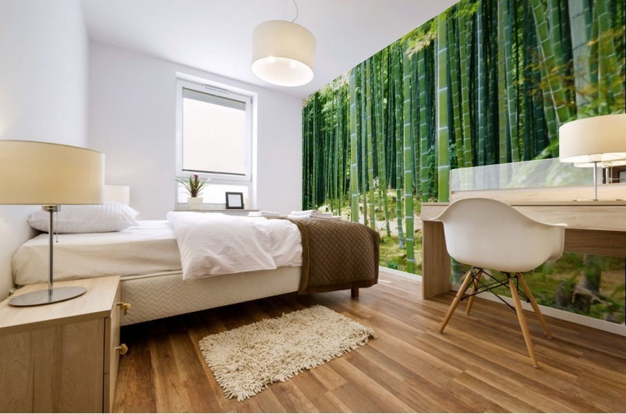 Bamboo Forest Mural print