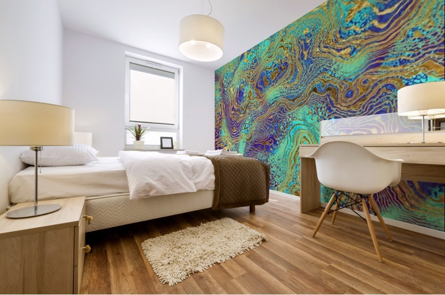 Abstract Marble I Mural print