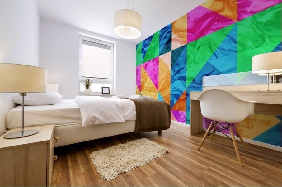 Geometric XXIX Mural print
