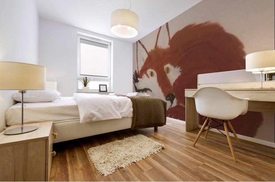 Red Fox Mural print