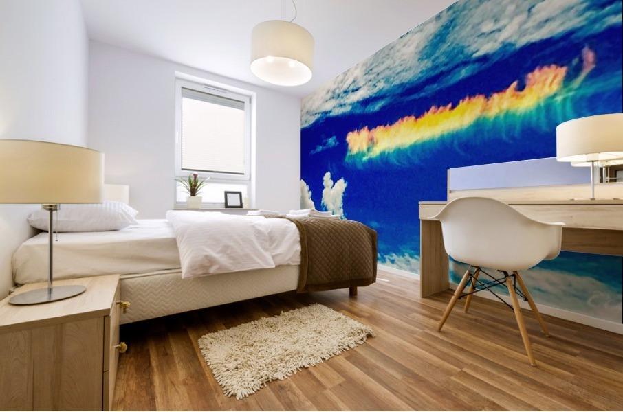 Follow the rainbow  Mural print