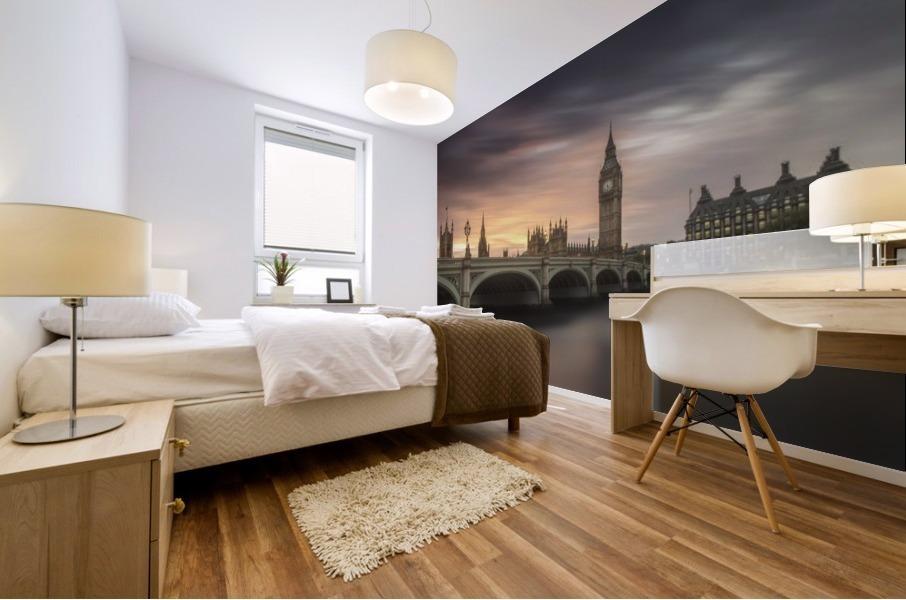 Big Ben, London Mural print
