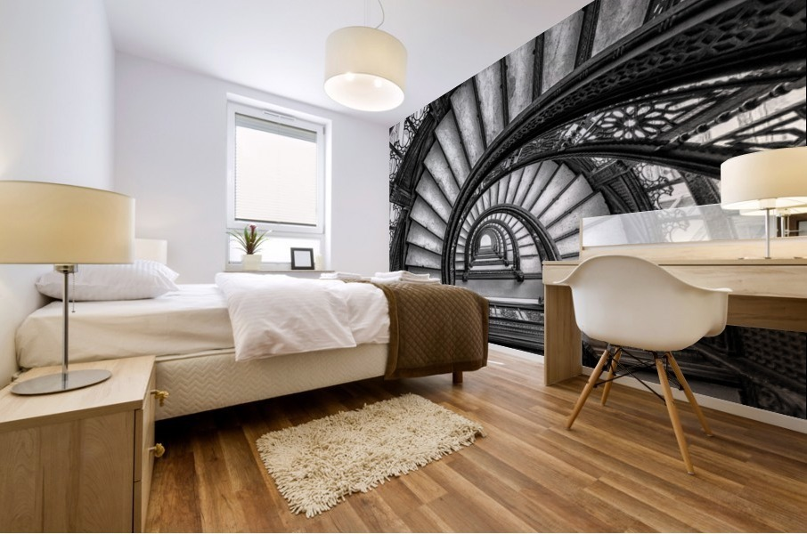 The Rookery Mural print