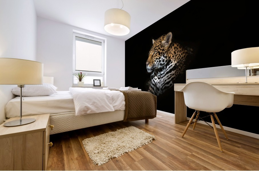 Jaguar Portrait Mural print