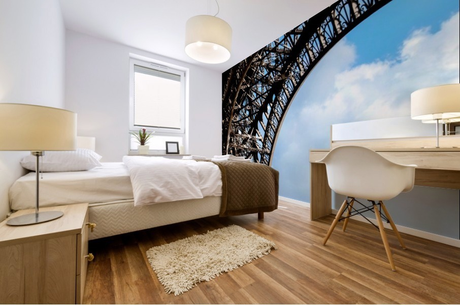 The Eiffel Tower  Mural print