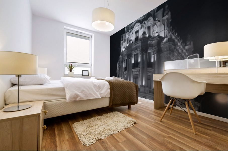 Metropolis Boulding   Grand Via   Madrid Mural print