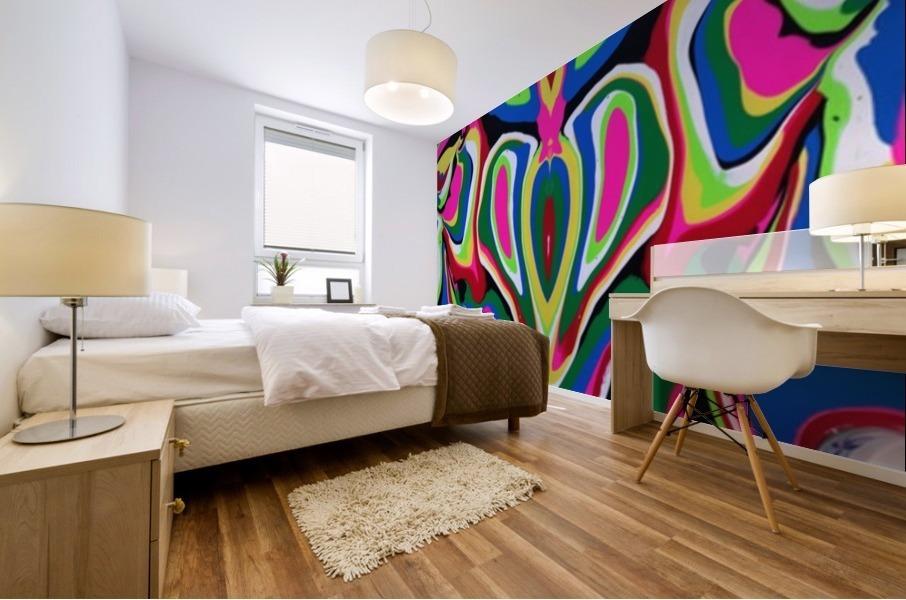 Heart and Soul Mural print