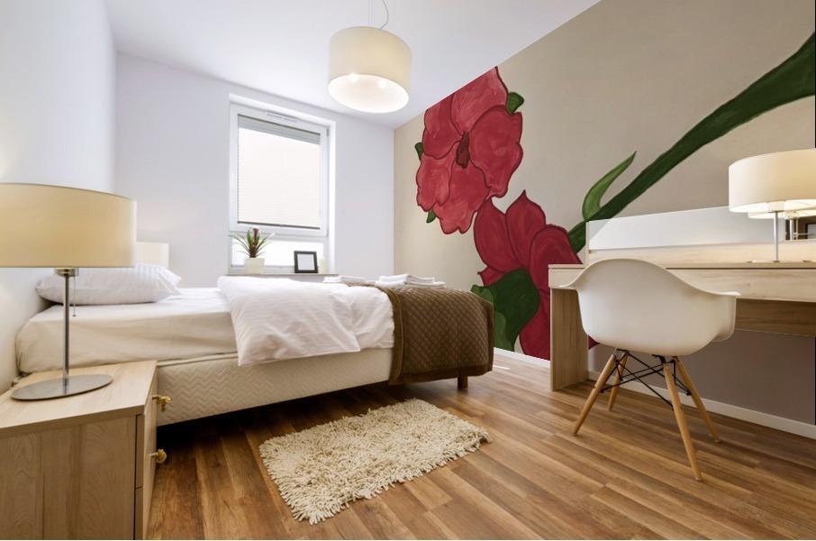 A Floral Dream Mural print