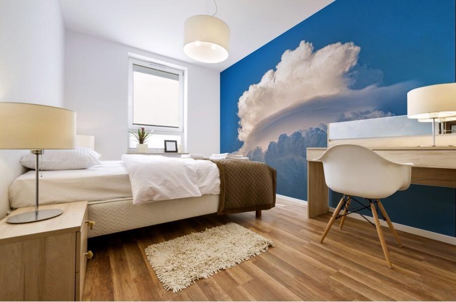 Atomic Cloud Mural print