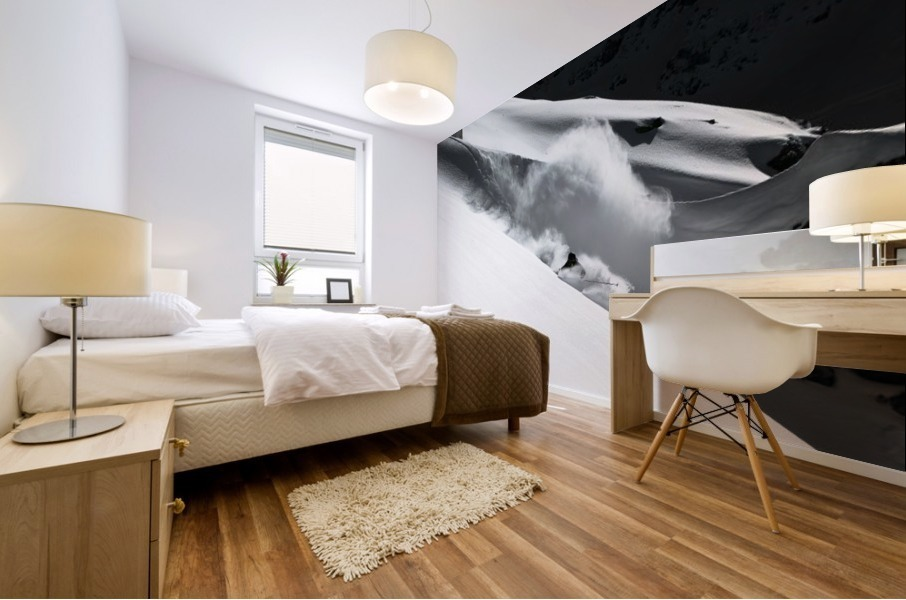 Cloud of Snow Mural print