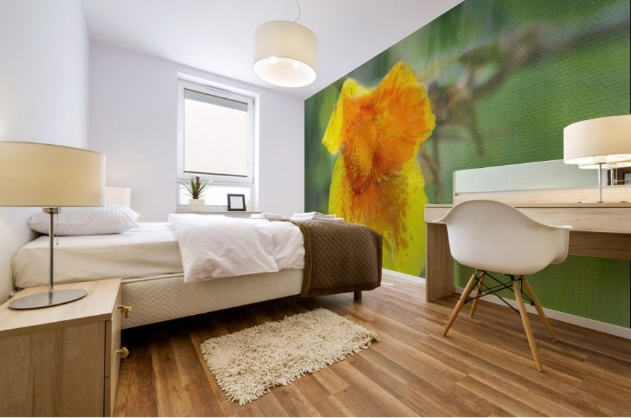 Canna Lily Digital Painting 52 70 200px Mural print