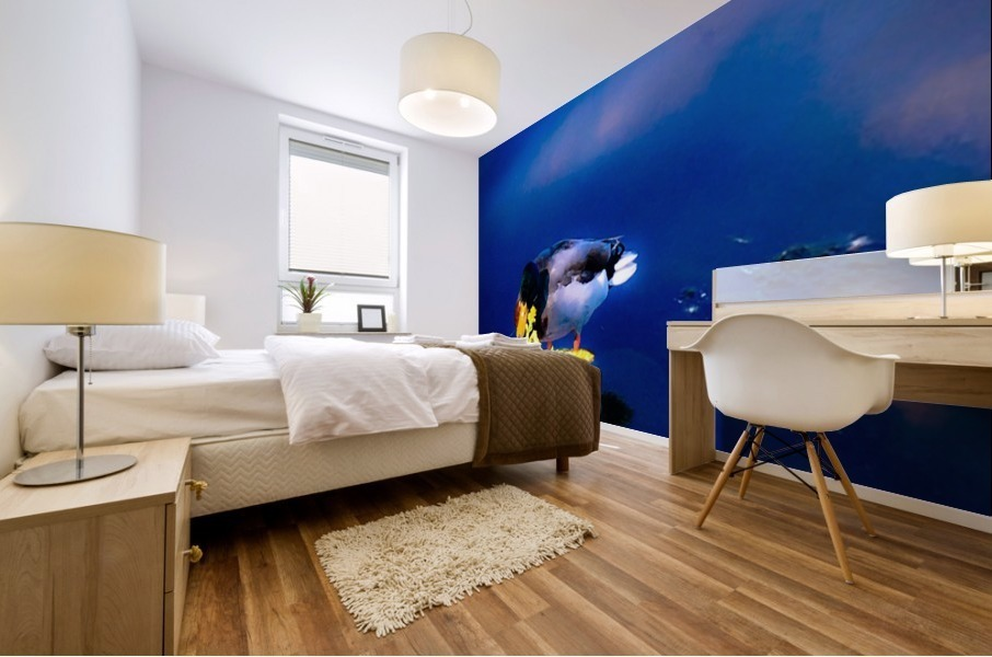 So simple Blue  Impression murale