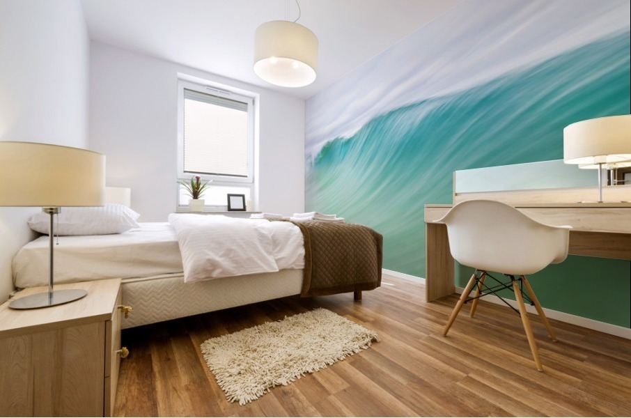CANARY WAVES 2. Mural print