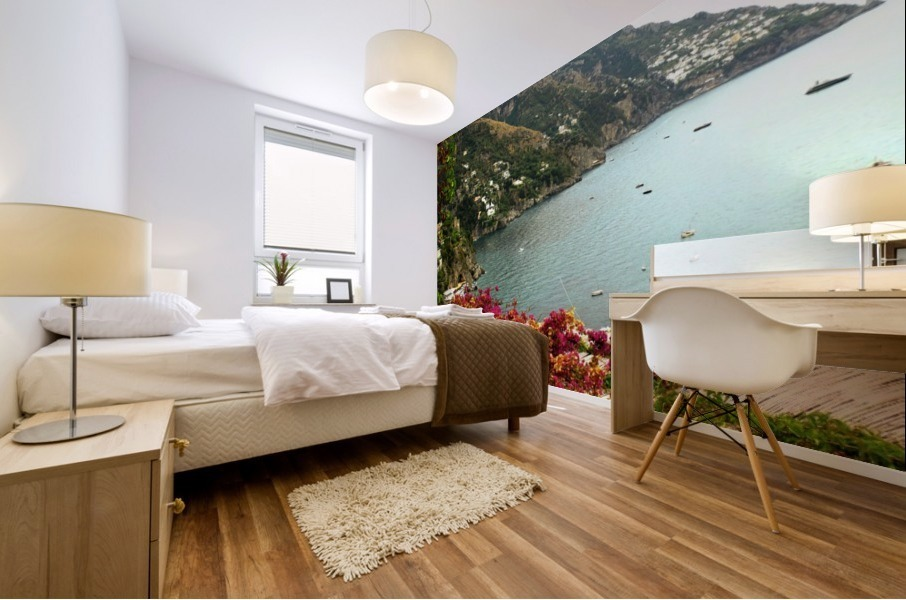 Amalfi Coast landscape  Mural print