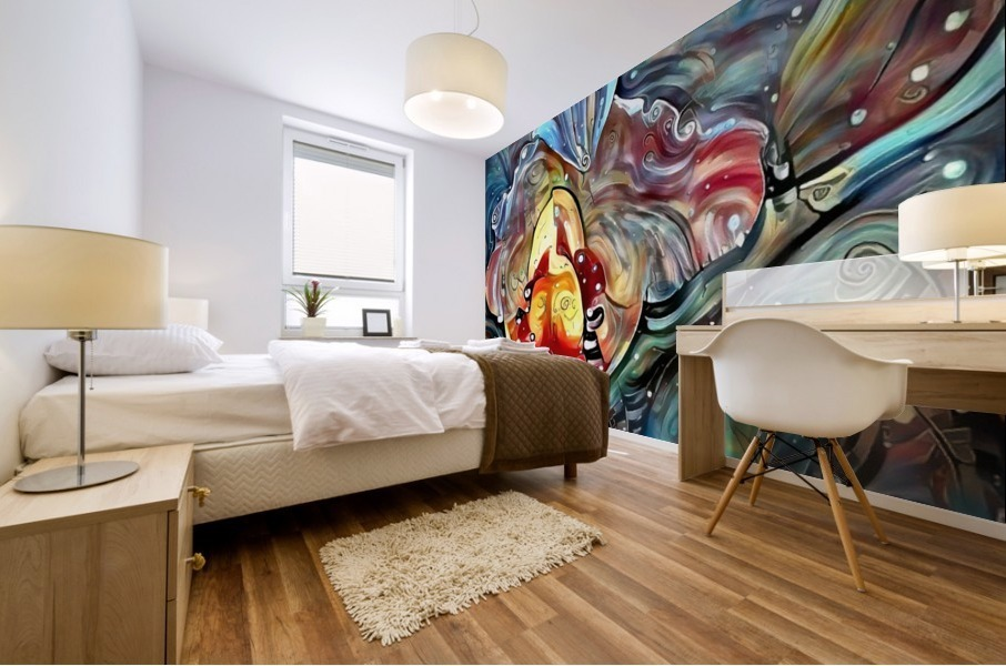 Trendy Abstract Mural print