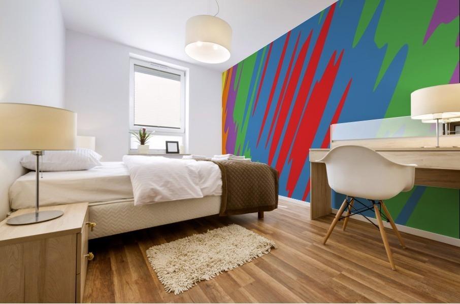 patterns shapes cool fun design (10)_1557253911.56 Mural print