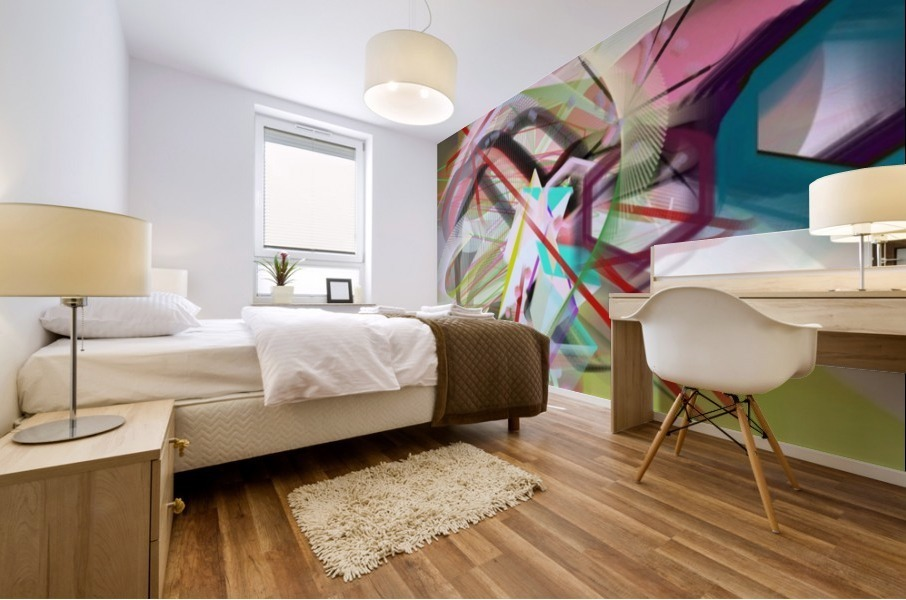 New Popular Beautiful Patterns Cool Design Best Abstract Art (2) Mural print