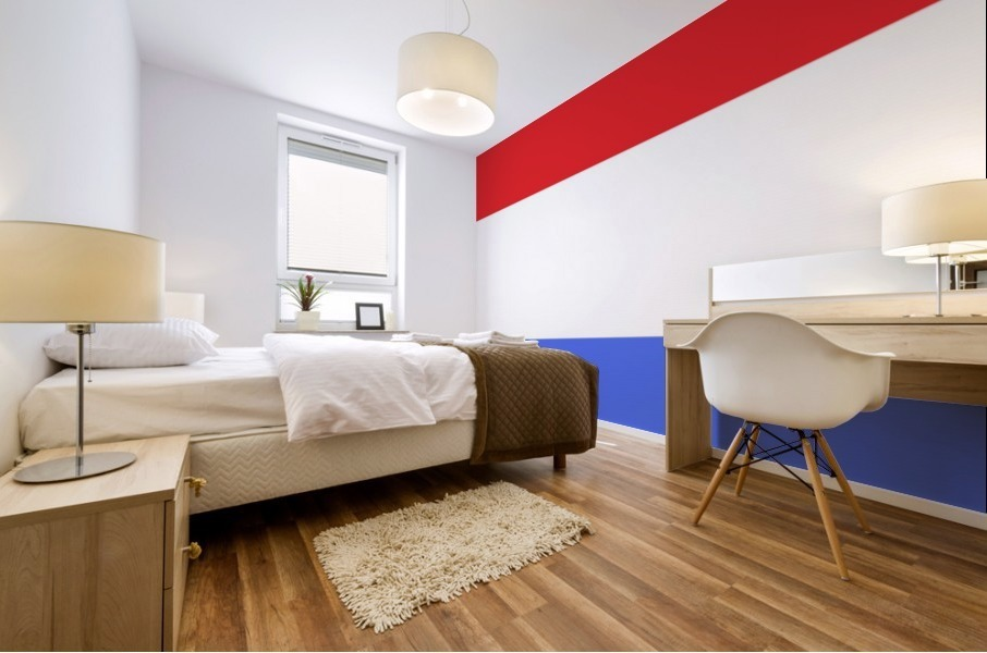 This is a beautiful design with great color, shape, line, texture, space and value.  (5) Mural print
