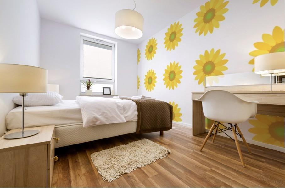 Sunflower (4) Mural print
