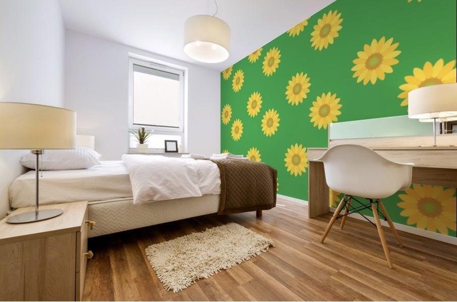 Sunflower (38)_1559875865.3493 Mural print