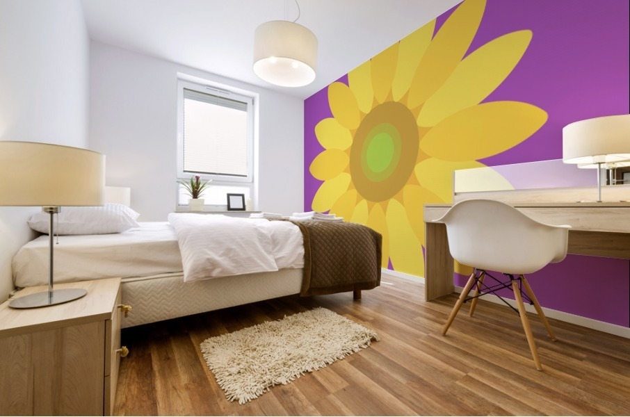 Sunflower (11)_1559876168.1472 Mural print