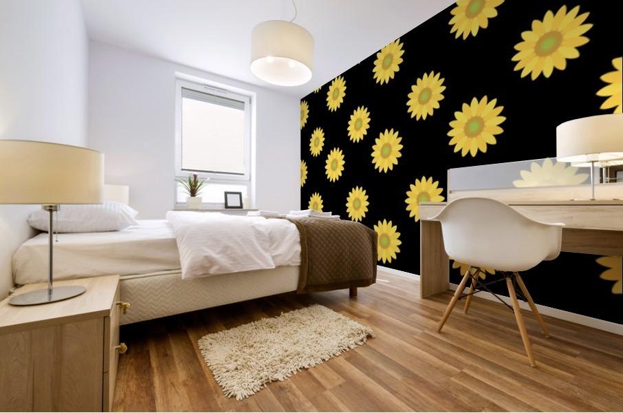Sunflower (6)_1559876457.017 Mural print