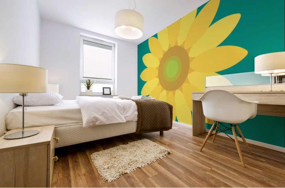 Sunflower (15)_1559876665.7687 Mural print