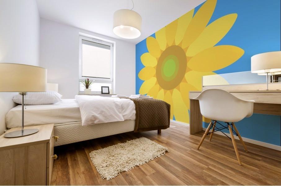 Sunflower (13)_1559876665.7609 Mural print