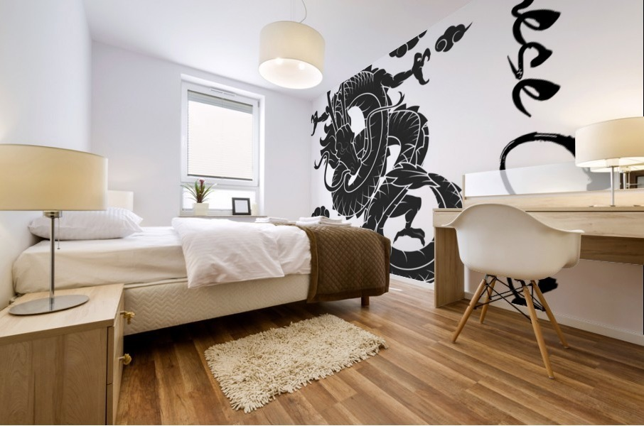 Chinese Concept 01A Mural print