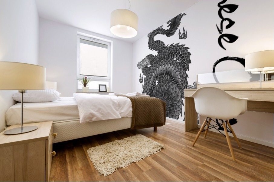 Chinese Concept 03A Mural print