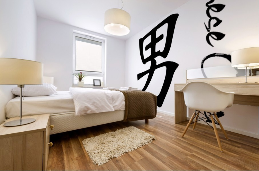 Chinese Concept 36A Impression murale