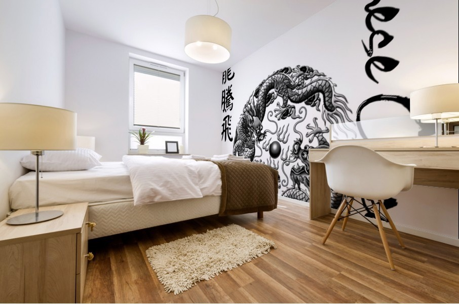 Chinese Concept 42A Mural print