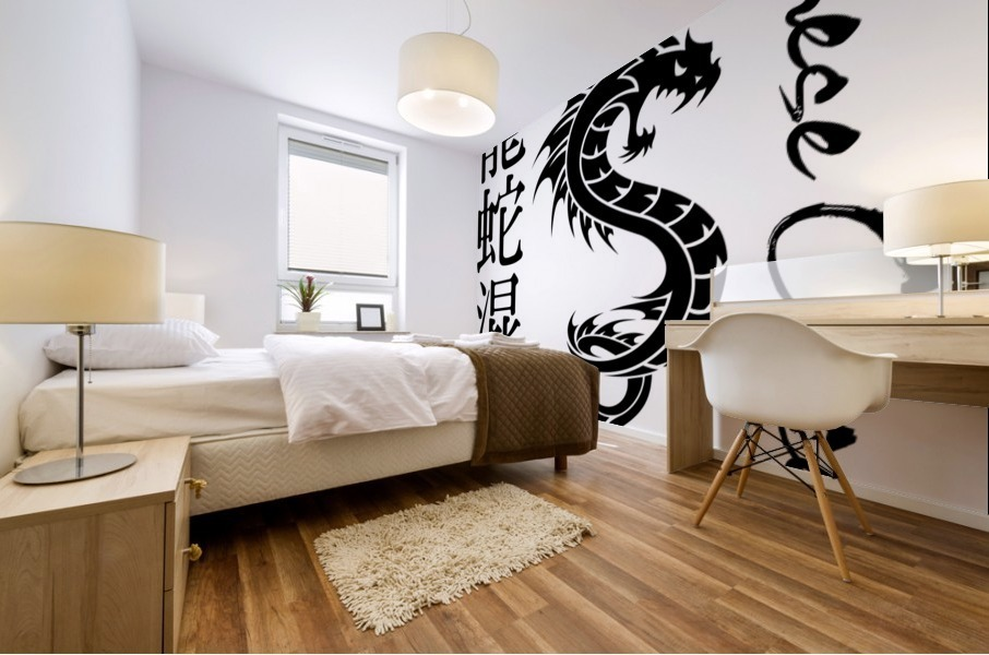 Chinese Concept 56A Mural print
