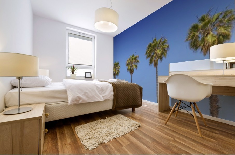 Lovely Palm Trees   Panorama Mural print
