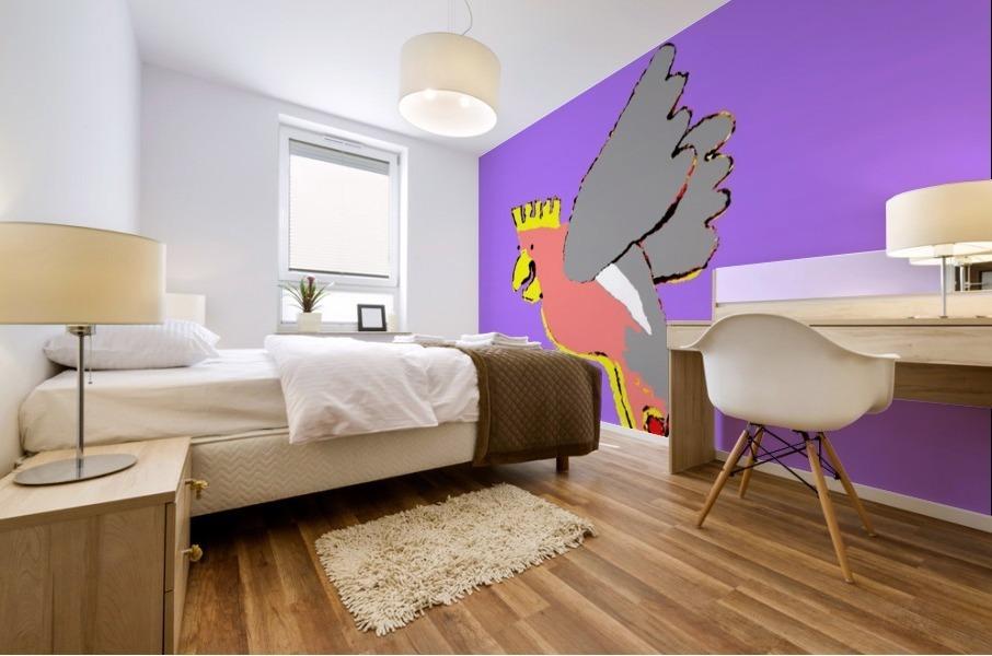 Laughing Galah - Purple Mural print