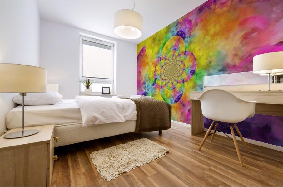 Colorful Fractal Mural print