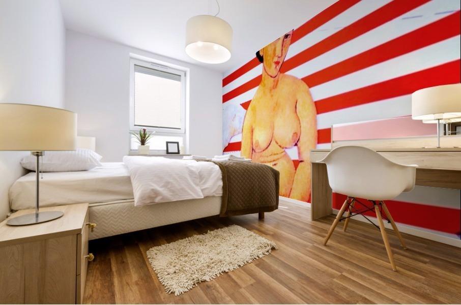 erotic angel Mural print