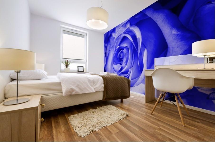 Rose blue Mural print
