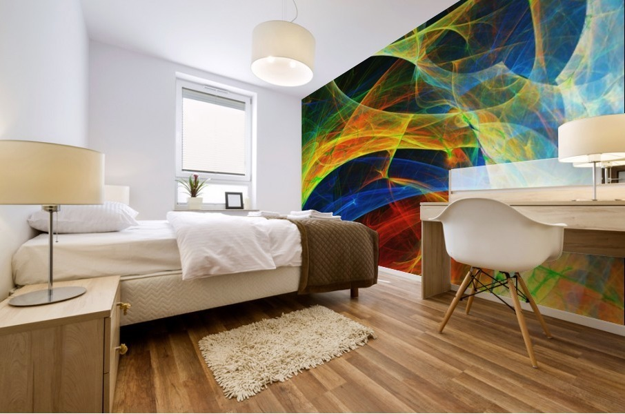 Abstract Composition 395 Mural print