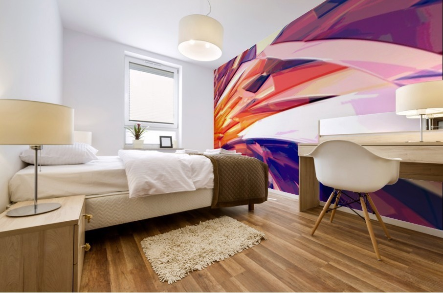 Abstract Composition 695 Mural print