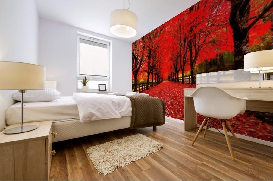 Red Carpet Mural print