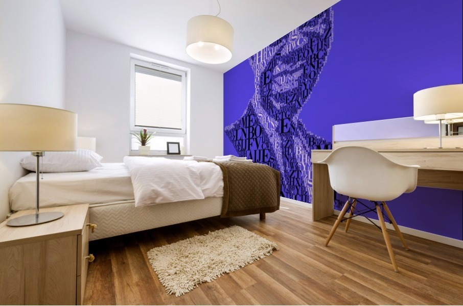Louis Amstrong Mural print