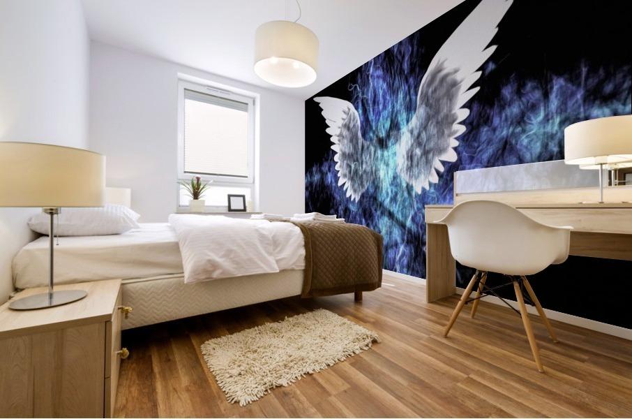 Wings Painting Mural print