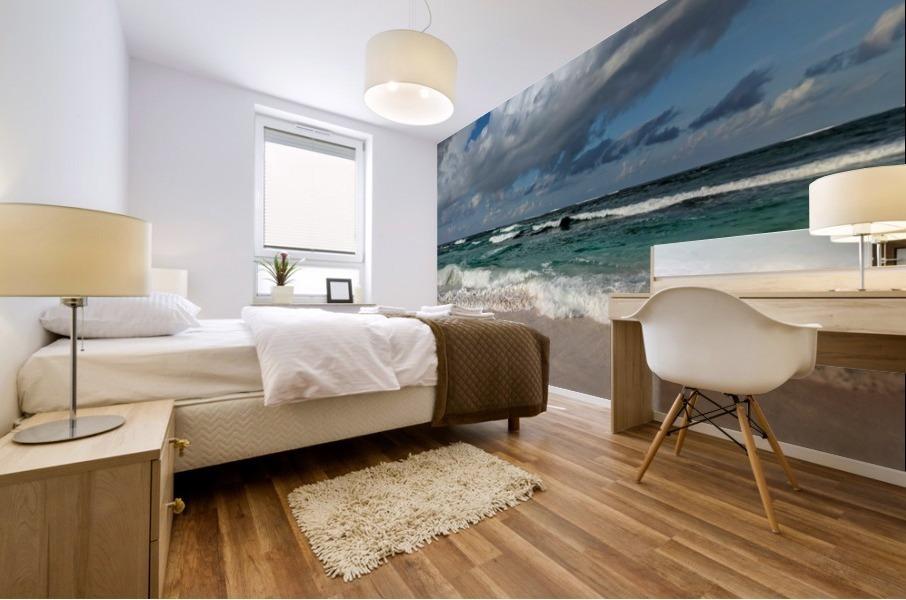 Eleuthera Endless Waves Mural print