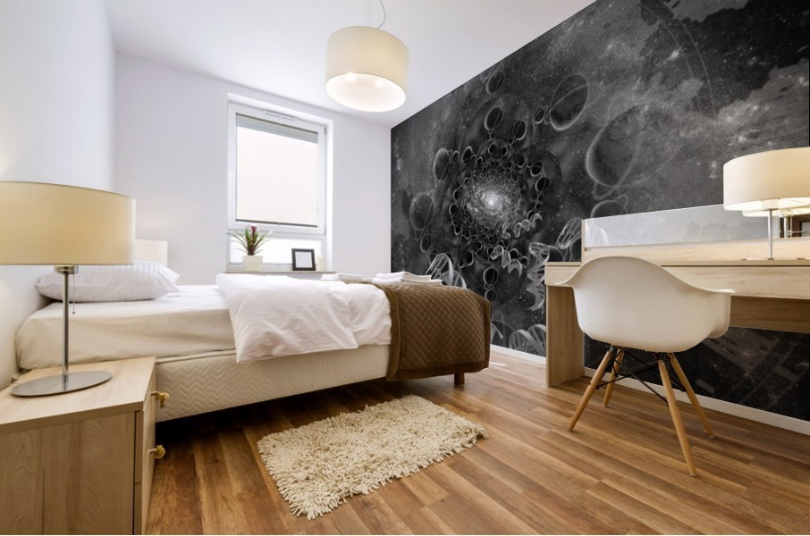DNA From Space Mural print