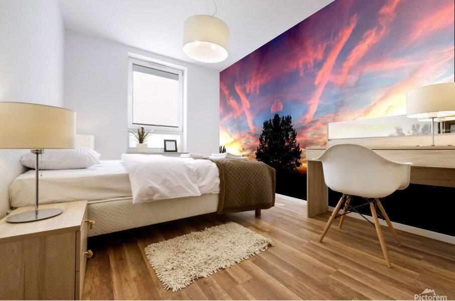 nube 58 Impression murale
