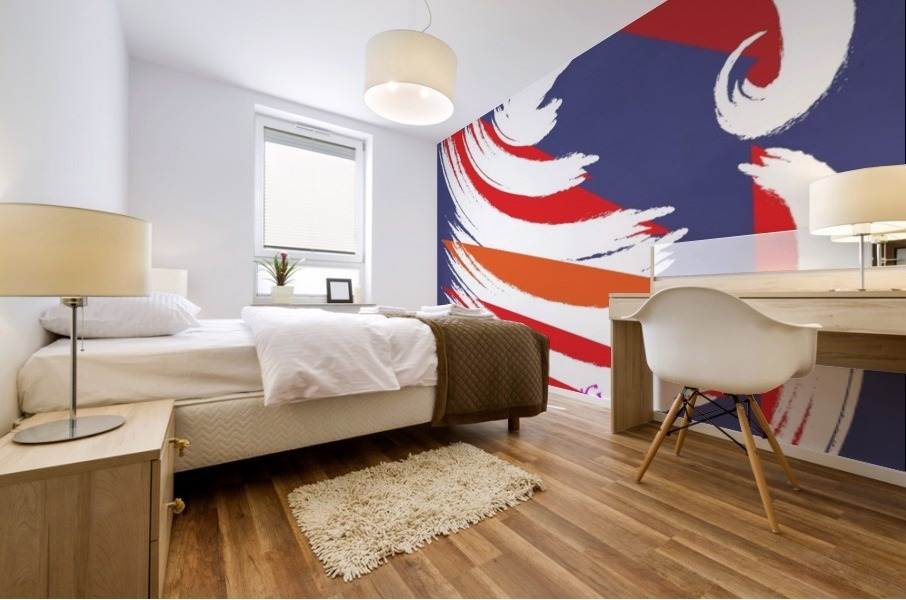 FEATHERING BY DEPACE Mural print