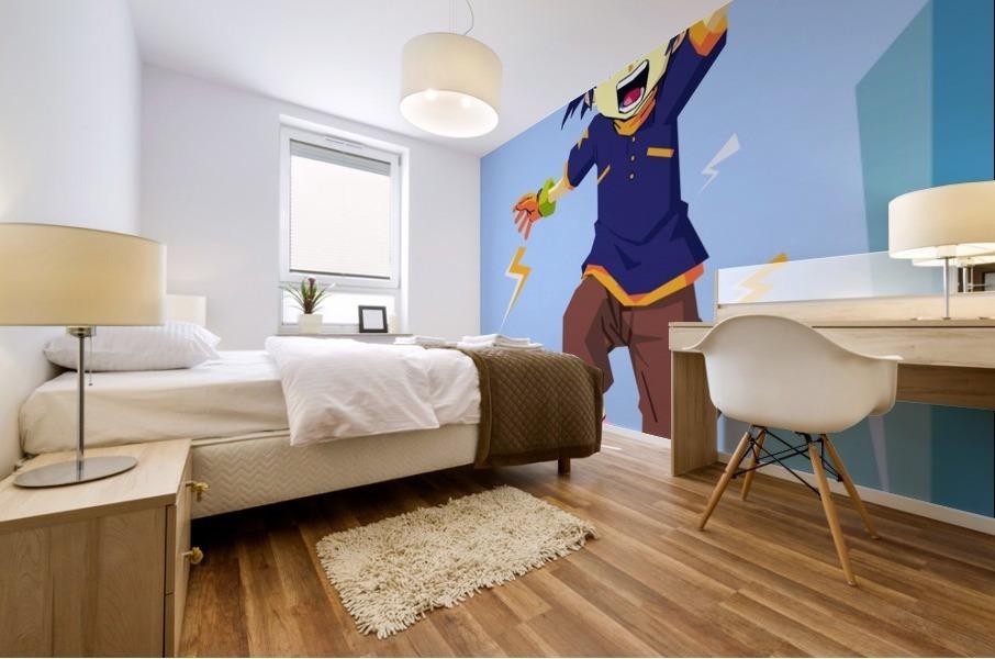 Digimon Mural print