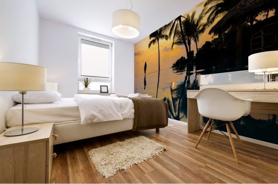 Relaxation Sunset Mural print