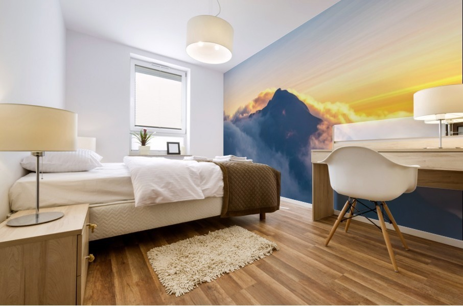 Alpine Glow Mural print